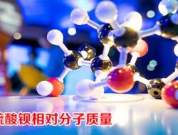 硫酸钡的相对分子质量