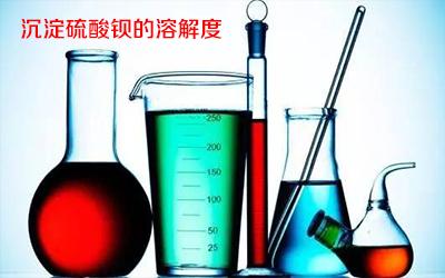 沉淀硫酸钡检验