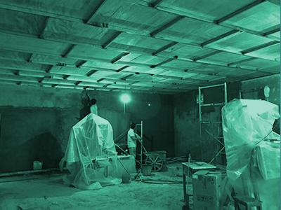 硫酸钡粉墙施工